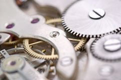 Old watch close up Royalty Free Stock Photo