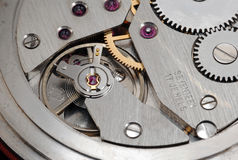 Mechanism of old watch royalty free stock photos