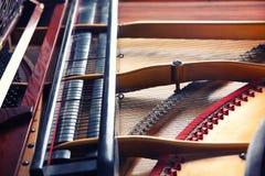 Mechanism of piano, closeup. Mechanism of piano, close up Stock Photos