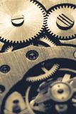 Mechanism of pocket watch Stock Image