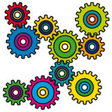 Mechanism (vector) Stock Images