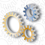 Mechanism (vector) Royalty Free Stock Image