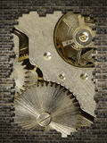 Mechanism and wall Stock Images