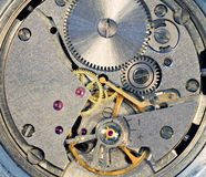 Mechanism of a watch Stock Photos