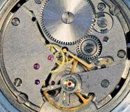 Mechanism of a watch stock photos