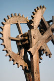 Mechanism by wood Royalty Free Stock Photography