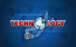 Mechanisme van globale verbindingen Royalty-vrije Stock Foto