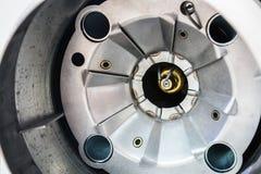 Mechanismen und Teile des Rotors oder des Motors Stockbild