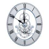 Mechanisms hours dial vector illustration