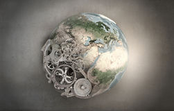 Mechanisms of our planet Royalty Free Stock Photo