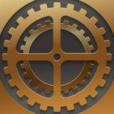 Mechanismus-Hintergrunddesign des Vektors modernes Stockbilder