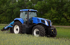 Mechanized agricultural work on the farm Royalty Free Stock Photography