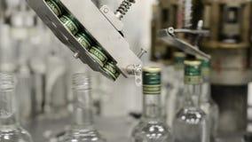 Mechanizm automatyczna butelki kapslowania maszyna zbiory