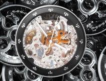 mechanizm kieszeniowy zegarek Zdjęcia Royalty Free