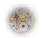 mechanizm stary zegarek Zdjęcia Royalty Free