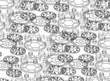 Mechanizmu architekta tła abstrakcjonistyczny projekt - odosobniony Obrazy Royalty Free