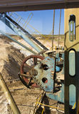 Mechanizmu dragline wielki ekskawator Obrazy Stock