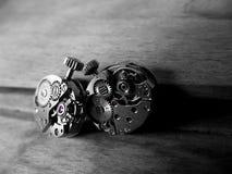 Mechanizmy z rubinami Zdjęcia Royalty Free