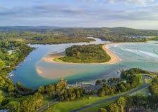 Mechaty punkt Przegląda Australia Fotografia Royalty Free