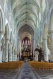 Mechelen - ступица собора St. Rumbold стоковое изображение