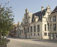 Mechelen, Belgium. Palace of Margaret of Austria (The Hof van Savoye) in Mechelen, Belgium Stock Photography