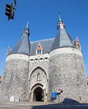 Mechelen - Brusselport gate Royalty Free Stock Images
