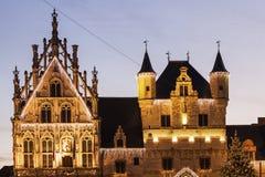 Mechelen City Hall Stock Photo