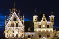 Mechelen City Hall Royalty Free Stock Images