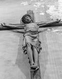 Mechelen - Crucifixion in Onze-Lieve-Vrouw-va n-Hanswijkbasiliek church. Royalty Free Stock Images