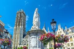 Mechelen, Flandre, Belgique Photos stock