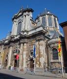 Mechelen - kyrka för n-Hanswijkbasiliek Onze-Lieve-Vrouw-va Royaltyfri Bild