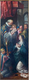Mechelen - The Presentation of Jesus in the Temple by Ambrosius Francken junior (1619) in church st. Johns church Stock Images