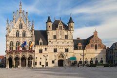 Mechelen stadshus Arkivfoton