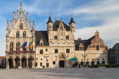 Mechelen Town Hall. Town Hall of Mechelen, Belgium Stock Photos