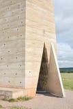 Mechernich, Germania - 15 agosto 2015: Bruder Klaus Field Chapel da Peter Zumthor Immagine Stock Libera da Diritti
