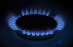Mechero de gas Imagen de archivo libre de regalías