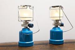 Mechero de gas dos Foto de archivo libre de regalías