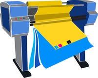Mechine van de druk Stock Fotografie
