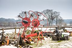 Mechnism de Aagricultural Foto de archivo libre de regalías