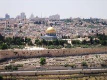 Mecid-Aqsa en Jerusalén Imágenes de archivo libres de regalías