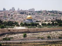 Mecid-Aqsa in Jerusalem Royalty Free Stock Images