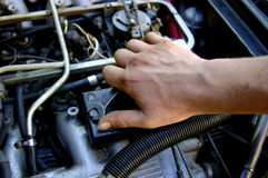 Mecánico Foto de archivo libre de regalías