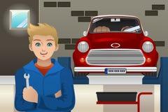 Mecânico de carro Foto de Stock