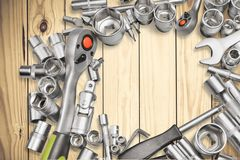 Mecánico Tools Fotos de archivo
