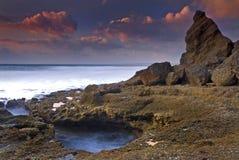 Meco beach Royalty Free Stock Image