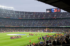mecz futbolowy Zdjęcie Royalty Free