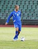 mecz futbolowy Hungary vs Iceland Obrazy Royalty Free