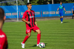mecz futbolowy piłka nożna Moldovan pro liga footballowa obraz stock