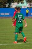 mecz futbolowy piłka nożna Moldovan pro liga footballowa obraz royalty free
