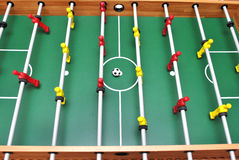 mecz futbolowy stół Obrazy Royalty Free